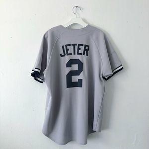1990s Derek Jeter New York Yankees Majestic Jersey